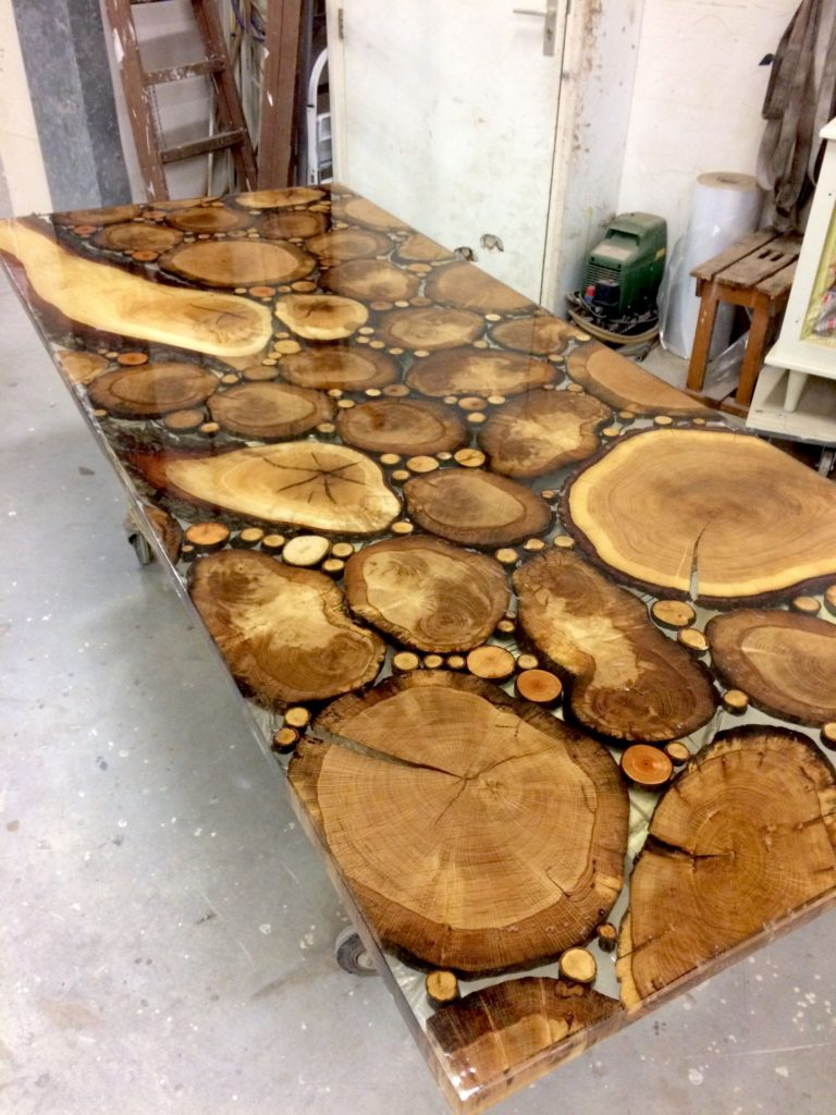 50 Epoxy Resin Wood Table Ideas Woodworking24hrs